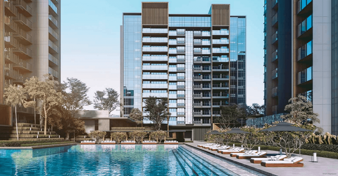 Leedon Green - Front Pool View (Leedongreen-com.sg) - Front Page