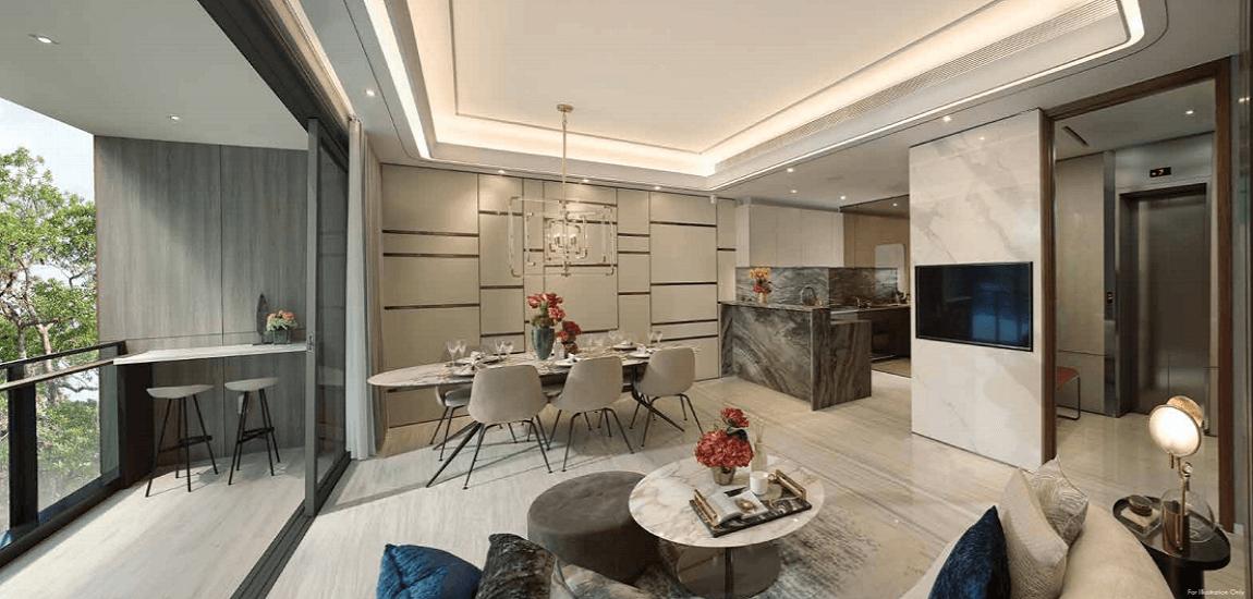 Leedon Green - Interior Design Of Hall (leedongreen-com.sg)